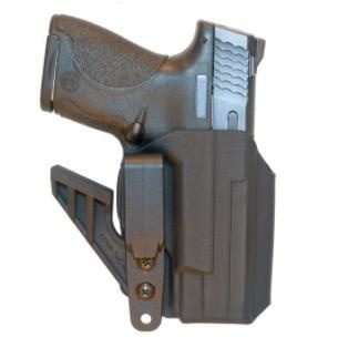 Comp-Tac eV2 Holster | AIWB | Appendix Inside the Waistband Holster, Right, Black, Glock 42 (CO)