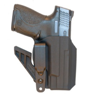 Comp-Tac 1911 eV2 Holster, AIWB, Appendix, Open Bottom - Right Handed