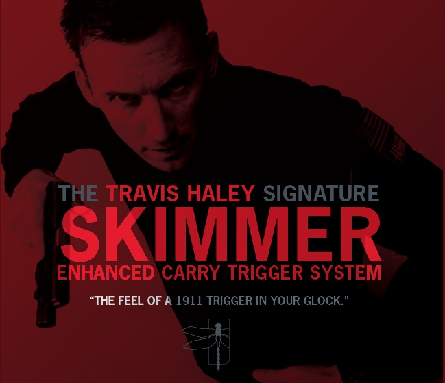 GLOCKTRIGGERS Travis Haley Enhanced Carry Trigger System, Gen 4, 9mm, performance of a stock 1911