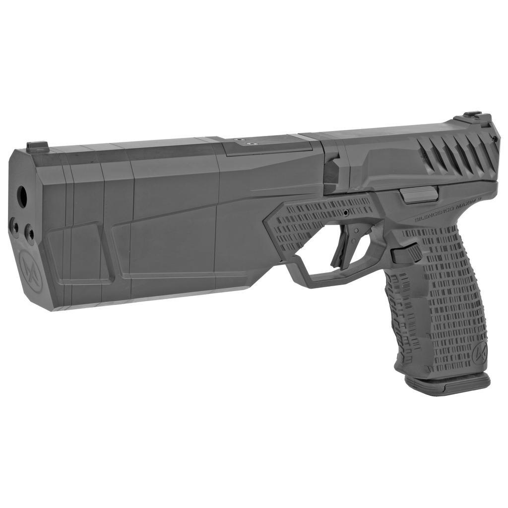 Silencerco LLC, Maxim 9 Integrally Suppressed, 9mm, 17 Round PMAG