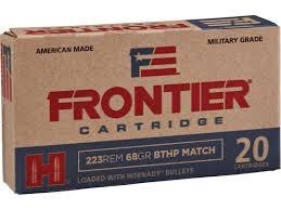 Ammo, Frontier .223, 68 gr, 20 rd