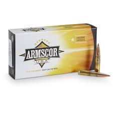 Ammo, Armscor 300 AAC Blackout,208 gr, 20 rds