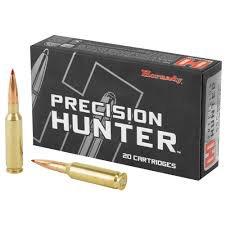 Ammo, Hornady Precision Hunter 6.5 Creedmoor 143 gr, ELD-X, 20 rd