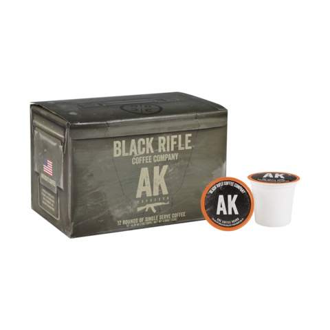 Black Rifle Coffee AK-47 Espresso Coffee -12 cups - KCups