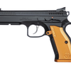 "CZ Shadow 2, Orange, 9mm, 5"", Manual Safety, 17+1, adjustible sights"
