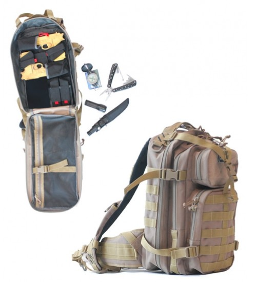 GPS Loaded Bug Out Backpack