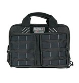 Pack and Etc (Firearm) GPS Tactical Quad +2 Pistol Case, Black