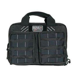 Pack and Etc (Firearm) GPS Tactical Quad +2 Pistol Case, Black