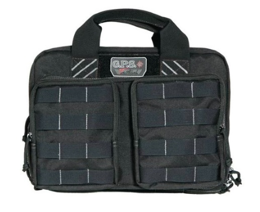 GPS Tactical Quad +2 Pistol Case, Black