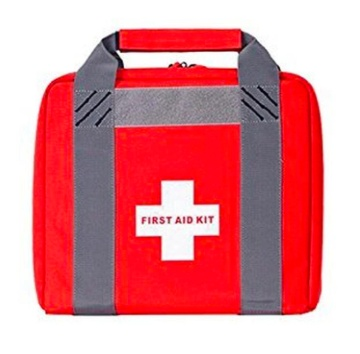 Pack and Etc (Firearm) GPS First Aid Kit, Large Size, with Velcro, holster and mag pouch