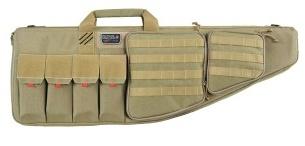 "GPS Tactical AR case, with Handgun compartment, 35"", Tan"