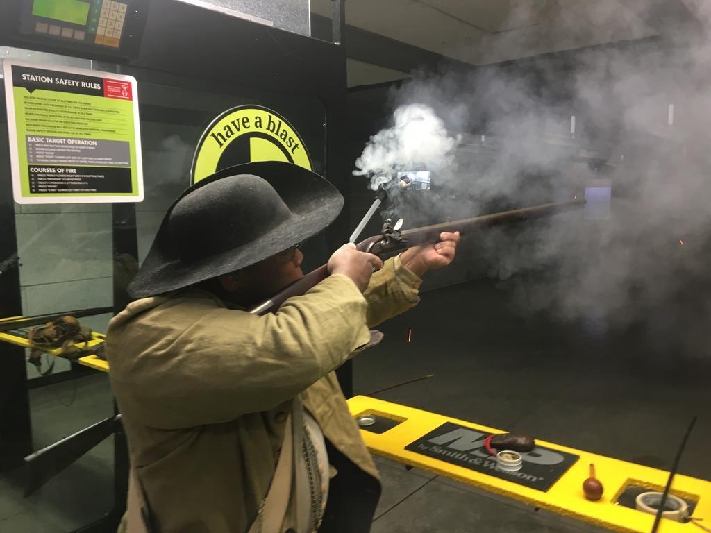 Kentucky Longrifle Experience - fire 3 rounds through a flintlock rifle (Reservation Preferred)