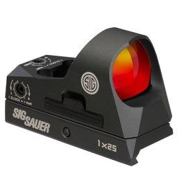Optics Sig Sauer Romeo 3, Mini Reflex with Riser, 3MOA, Red dot, graphite finish