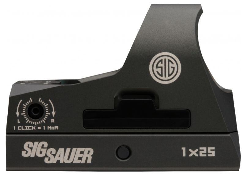 Sig Sauer Romeo 3, Mini Reflex with Riser, 3MOA, Red dot, graphite finish