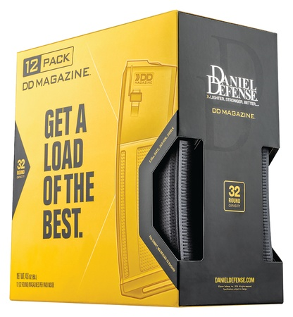 Magazines - Clips Daniel Defense, 12 Pack, 5.56 AR Poly magazine, 32 Rounds