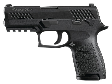 "Handgun New Sig Sauer P320 Compact, 9mm, 3.9"", Night Sights, Manual Safety, 15rd"