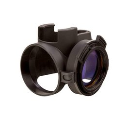 Optics Trijicon MRO Slip On Cover Black Clear Lens