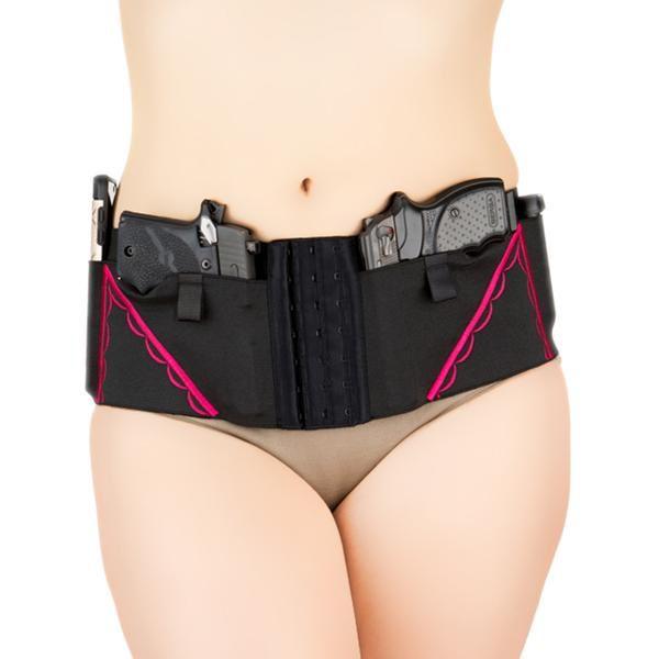 Can Can Concealment Classic Hip Hugger - XL - Hot Pink
