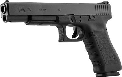Rotational Glock 24, .40S&W, Adj. Sights, 15 rd, 3 mags (special run)