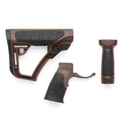 Add On Daniel Defense Mil Spec+  Buttstock, Pistol Grip and Vertical Foregrip Combo Pack