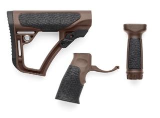 Daniel Defense Mil Spec+  Buttstock, Pistol Grip and Vertical Foregrip Combo Pack