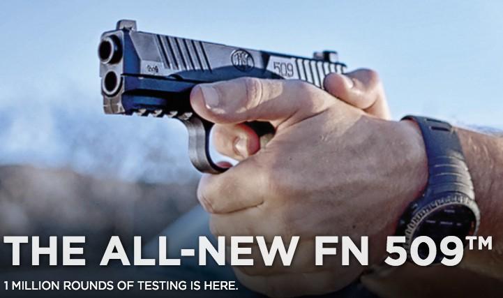 FN 509, 9mm, DA Action, 2-17rd