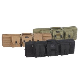 Pack and Etc (Firearm) Bulldog Double Tactical Rifle Bag, Tan, 37""