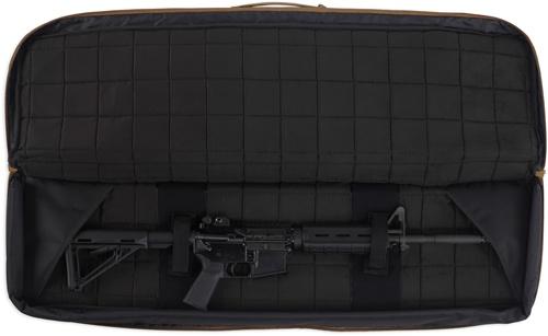 "Pack and Etc (Firearm) Bulldog Double Tactical Rifle Bag, Black, 43"""