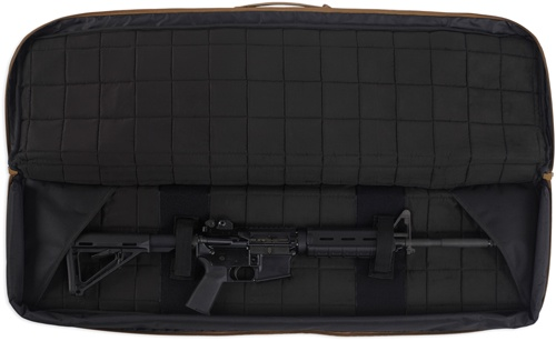 Pack and Etc (Firearm) Bulldog Double Tactical Rifle Bag, Black, 37""