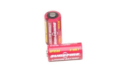 Surefire 2 x SF123A Batteries