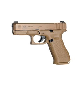 Handgun New Glock 19X gen 5, 9mm, Coyote nPVD, 1 x 17rd and 2 x 17+2 mags