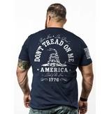 Shirt Short DON'T TREAD Tee, Midnight Navy, XXL