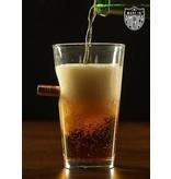 Shirt Short BenShot Pint Glass - .50cal - American Made