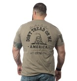 Shirt Short DON'T TREAD Tee, Coyote, Large