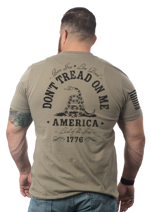 Shirt Short DON'T TREAD Tee, Coyote, XL