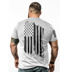 Shirt Short AMERICA Tee, White, XL