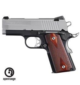 """Handgun New Sig Sauer 1911 Ultra Compact, 9mm, Night Sights, 3.3"""" barrel, 8 rd"""
