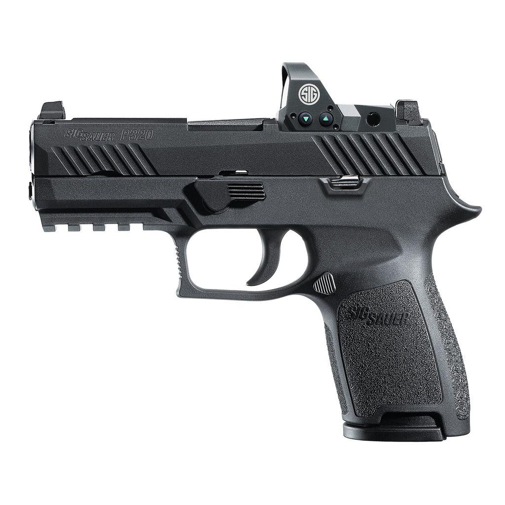 "Sig Sauer P320 Compact, Romeo1 Reflex Sight, 9mm, 3.9"", Night Sights, 15rd"