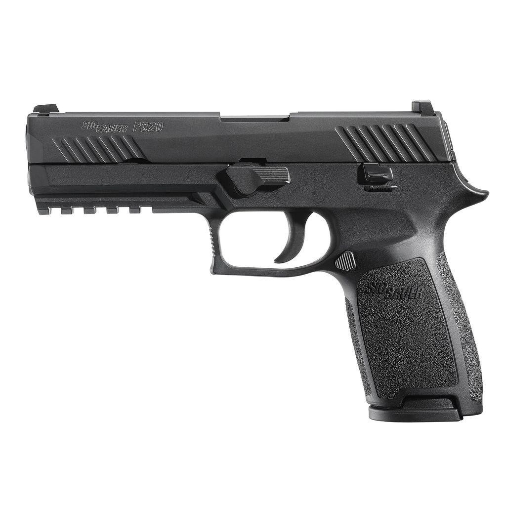 "Handgun New Sig Sauer P320, 9mm, 4.7"" Barrel, 17 rd, night sights"