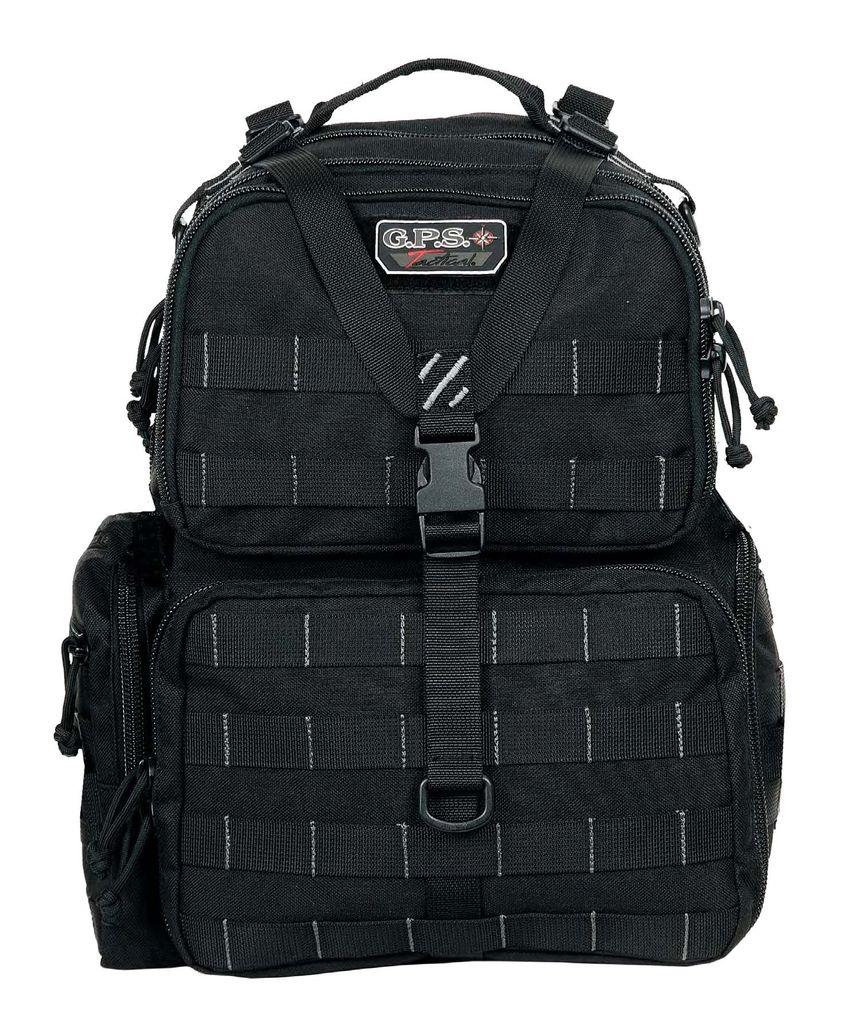 GPS Tactical Range Backpack, Black