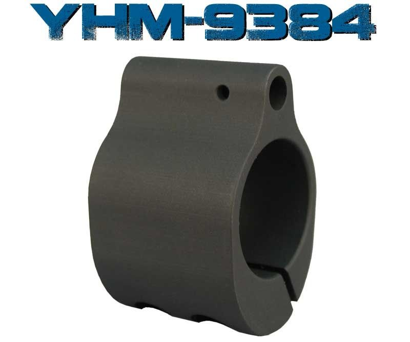 Yankee Hill Low Profile Gas Block Clamp On