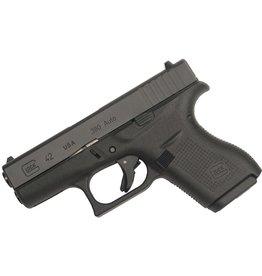 Handgun New Glock 42 Gen 4, 380 acp, fixed sights, 6 rd, 2 mags