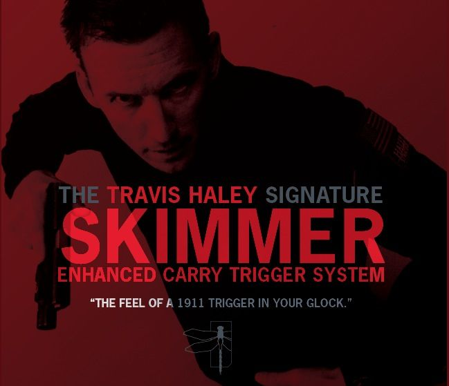 GLOCKTRIGGERS Travis Haley Enhanced Carry Trigger System, Gen 3, 9mm, performance of a stock 1911