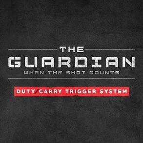 GLOCKTRIGGERS Guardian Duty/Carry Trigger System, Gen 3, 40sw (CO)