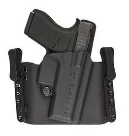 Plastic Comp-Tac Flatline Holster, Black, Glock, Slide Version