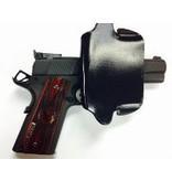 "Plastic Comp-Tac Paddle Holster, 1911 4"", Black, Straight, Left Handed, Slide Version (Closeout)"