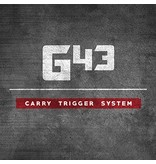 Glock Bar GLOCKTRIGGERS G43 Stock Travel Carry Trigger Kit, 9MM