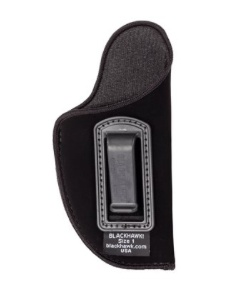 "Nylon BLACKHAWK Nylon Inside the Pants Holster for 2-3"" for small auto (.22- 25 cal), RH, Black (CO)"