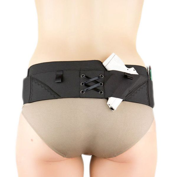 Nylon Can Can Concealment Classic Hip Hugger - Small - Black