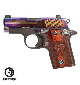 Rotational Sig Sauer P238, 380, 6 rd, rainbow, night sights